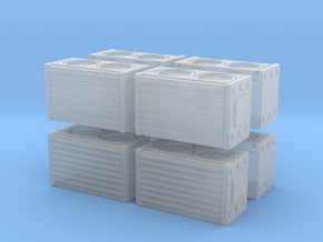 HEPA Air Filtration Unit (x8) 1/144 in Smooth Fine Detail Plastic