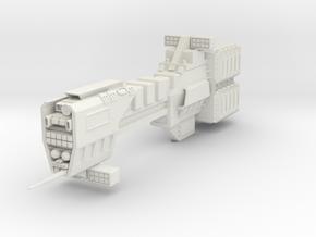 Sagittarius Class Missile Destroyer in White Natural Versatile Plastic