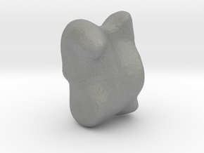 Knucklebone for games in Gray PA12