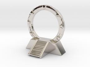 Stargate Space Portal Dimensional miniature games  in Platinum