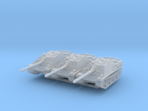 Jagdpanther late (x3) 1/220 in Smooth Fine Detail Plastic
