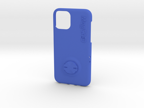 iPhone 11 Pro Garmin Mount Case in Blue Processed Versatile Plastic