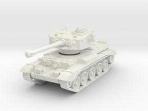 Comet Tank 1/87 in White Natural Versatile Plastic