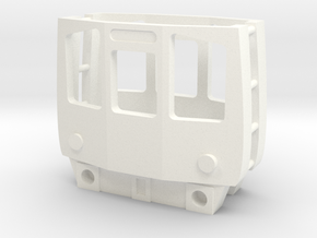 3mm Scale Class 110 Cab in White Processed Versatile Plastic