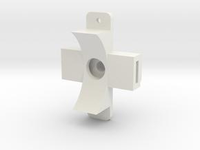 Switch - Bottom  in White Natural Versatile Plastic