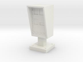 Speed Radar 1/48 in White Natural Versatile Plastic