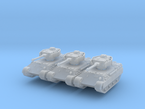 Bergepanther IV Sdkfz 179 (x3) 1/285 in Smooth Fine Detail Plastic