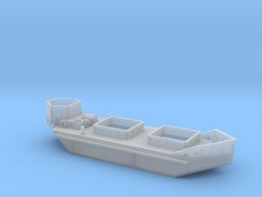 1/285th scale Ladoga Tender, armoured in Smooth Fine Detail Plastic