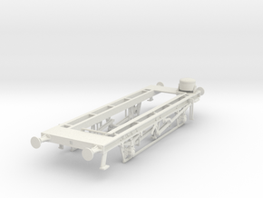 7mm HTV hopper chassis in White Natural Versatile Plastic