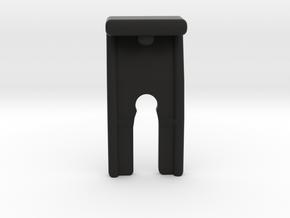 Under-dash Cover Clip in Black Natural Versatile Plastic