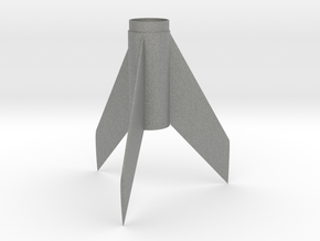 Alpha (K-25)-style Fin Unit BT50 for 18mm in Gray PA12