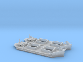 1/144th scale Ladoga Tender x2 (wline) in Smooth Fine Detail Plastic