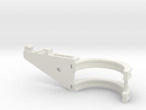GoPro bracket for fork part 1 in White Natural Versatile Plastic