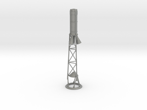 Mercury Capsule Tower for ST-20 scale in Gray PA12