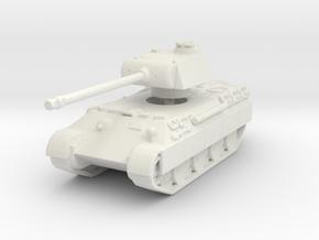 Panther A (schurzen) 1/144 in White Natural Versatile Plastic