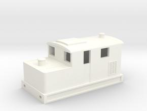 3mm Scale Sentinel in White Processed Versatile Plastic