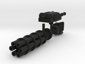 Membros Heavy Weapons in Black Natural Versatile Plastic