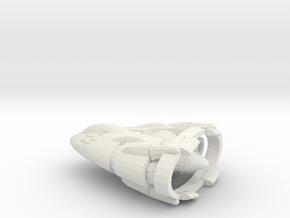 Slipstream I-C Advanced Tactical Fighter in White Natural Versatile Plastic