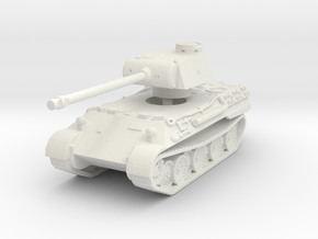 Panther D 1/120 in White Natural Versatile Plastic