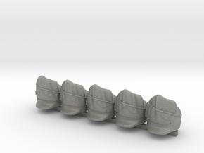 5 x British Scotts Greys  in Gray PA12