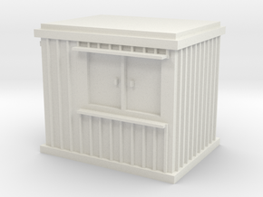 10 ft Office Container 1/56 in White Natural Versatile Plastic