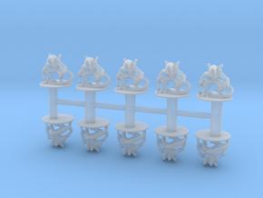 Alien Warriors 6mm monster Infantry Epic miniature in Smooth Fine Detail Plastic