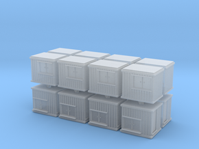 10 ft Office Container (x16) 1/500 in Smooth Fine Detail Plastic