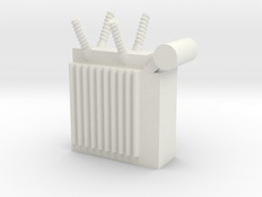 Power Substation 1/56 in White Natural Versatile Plastic
