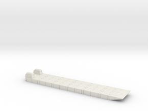 1/200 Mexeflote powered in White Natural Versatile Plastic
