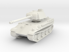 Panther G 1/87 in White Natural Versatile Plastic