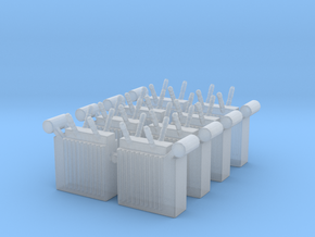 Power Substation (x8) 1/285 in Smooth Fine Detail Plastic
