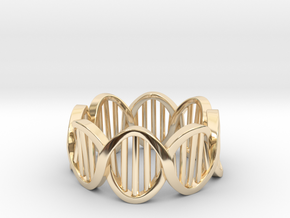 DNA Ring (Size 10) in 14K Yellow Gold