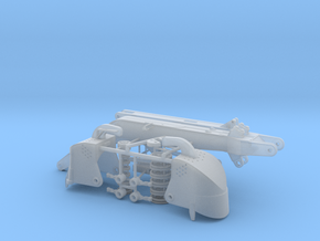 Tieflöffelausrüstung für Bagger Nobas UB80 in Smooth Fine Detail Plastic