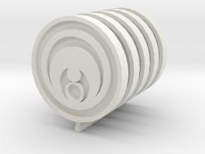L5R Token set x5 in White Natural Versatile Plastic