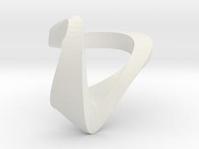 ZEPHYR BOLD monochrome in White Premium Versatile Plastic: 5 / 49