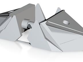 Combiner Orthia foot x2 in White Natural Versatile Plastic