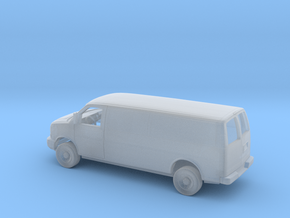 1/87 2003-Present Chevy Express Extended Slid.D. P in Smooth Fine Detail Plastic