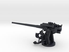 1/72 IJN Type 10 120mm Dual Purpose Gun in Black PA12