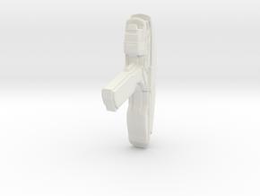 Phase Pistol 2.1 in White Natural Versatile Plastic