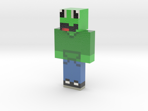 Skin_Output1587158412134 | Minecraft toy in Glossy Full Color Sandstone
