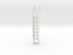 Roof Ladder 1/48 in White Natural Versatile Plastic