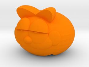 Mobile Suit Lasanga Cat in Orange Processed Versatile Plastic