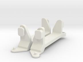 Schumacher Bosscat Shortie Lipo Cradle in White Natural Versatile Plastic