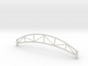 Girder for Hornby Dublo Canopy Station in White Natural Versatile Plastic
