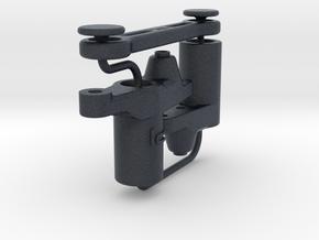 hpi RS4 sport 3 Steering Bellcrank Mod [kit] v2.2 in Black PA12