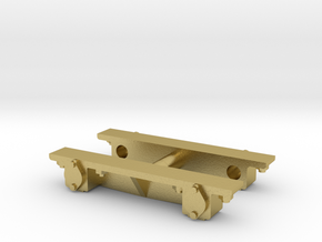 1:35 Scale SHLR Axle Boxes in Natural Brass