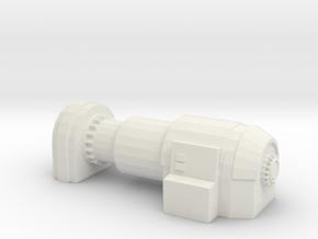 Power Generator 1/87 in White Natural Versatile Plastic