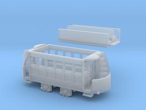N Gauge Freelance Horse Tram in Smooth Fine Detail Plastic