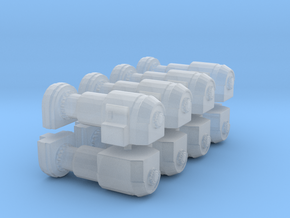 Power Generator (x8) 1/400 in Smooth Fine Detail Plastic