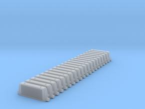 Set of 20 -  Intercooler in Smoothest Fine Detail Plastic